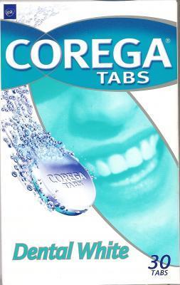 COREGA CLEANSERS TABS WHITE N30