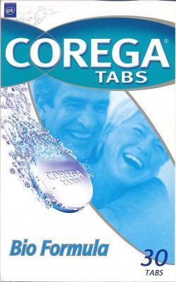 COREGA CLEANSERS TABS BIO N30