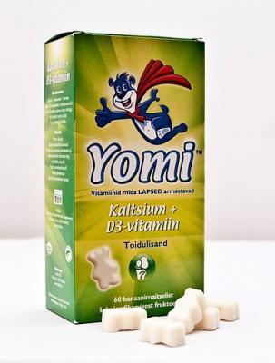 YOMI KALTSIUM + VIT-D3 N60