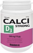 CALCISTRONG+D3 TBL N150_