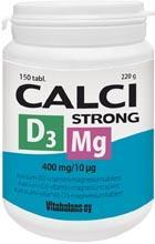 CALCISTRONG Mg+D3 TBL N150