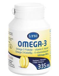 LYSI OMEGA-3 + E-VIT CAPS N120