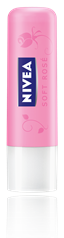 NIVEA LIP CARE SOFT ROSE  4,8G