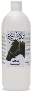 MSM HORSE POWER LINIMENT 500ML