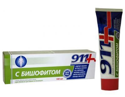 911 BISHOFTIGA GEL-PALSAM 100ML