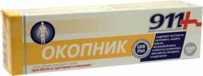 911 VAREMEROHU GEEL-PALSAM (OKOPNIK) 100ML