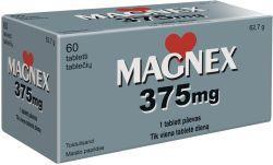 MAGNEX 375MG TBL N60