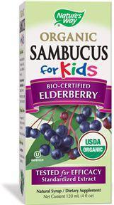 SAMBUCUS FOR KIDS SIIRUP 120ML