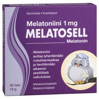 MELATOSELL  TABLETID 1MG  N60