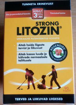 LITOZIN STRONG CAPS N90