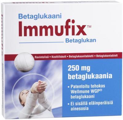 IMMUFIX BEETAGLÜKAANI WELLMUNE CAPS N30