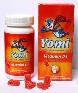 YOMI D3-VITAMIIN 10CMG N60