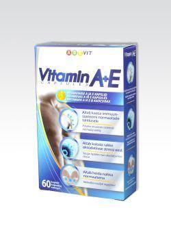 ABCVIT A+E-VITAMIIN CAPS N60