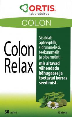 COLON RELAX GAASIDE VASTASED TBL N30 ORTIS