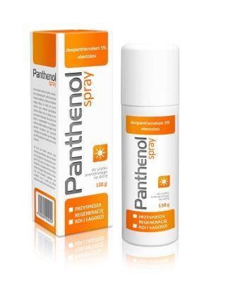 PANTHENOL S.O.S. SPRAY 10% 130G
