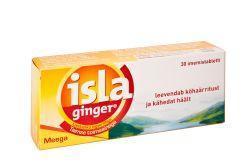 ISLA-GINGER PASTILLID N30