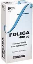 FOOLHAPE TBL 400MCG N30