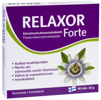 RELAXOR FORTE KANNATUSLILLE EXT. TAB N60
