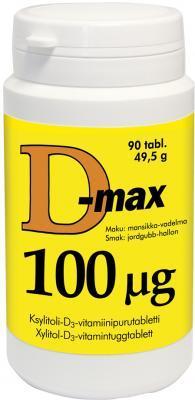 D-MAX TBL 100MCG N90