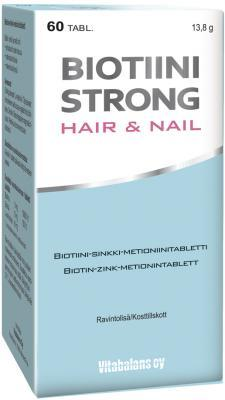 BIOTIIN STRONG HAIR & NAIL TAB N60