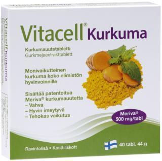 VITACELL KURKUMI TABLETID N40