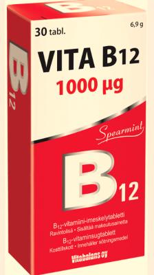 VITA B12 TABL  1000mcg N30