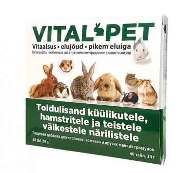 VITAL-PET VITAMIINID VÄIKESTELE NÄRILISTELE TAB N40