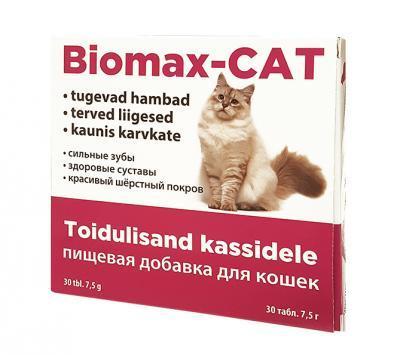 BIOMAX-CAT VITAMIINID KASSIDELE TAB N40