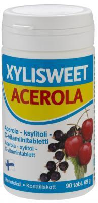 XYLISWEET ACEROLA  LOODUSLIK C-VITAMIIN TBL 75MG N90_