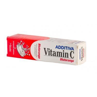 ADDITIVA VITAMIN C KIHISEV TBL 1G N20 BLUTORANGE 20%