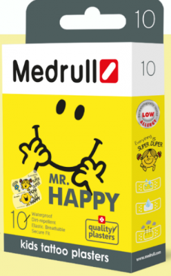 MEDRULL PLAASTER MR. HAPPY N10
