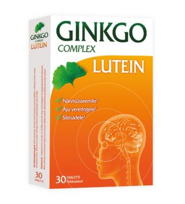 GINKGO COMPLEX  LUTEIN TAB N30