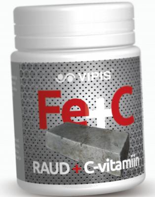 VIPIS RAUD+C-VITAMIIN TABL N30