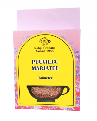 KUBJA PUUVILJA-MARJATEE 50G
