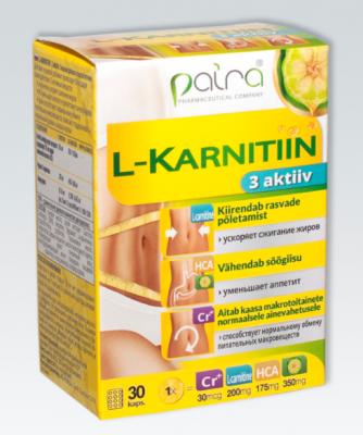 PAIRA L-KARNITIIN N30