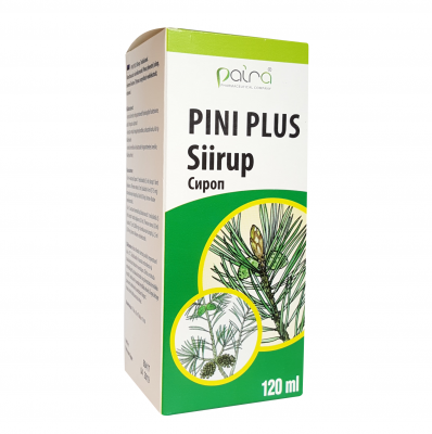 PAIRA PINI PLUS SIIRUP 120ML