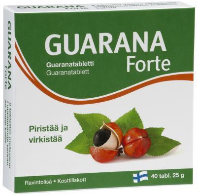 GUARANA FORTE ENERGIA TAB N40