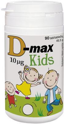D-MAX KIDS TBL 10MCG N90