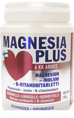 MAGNESIA PLUS MAGNEESIUMI TAB N180