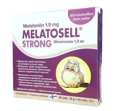 MELATOSELL  STRONG TABLETID 1,9 MG  N60