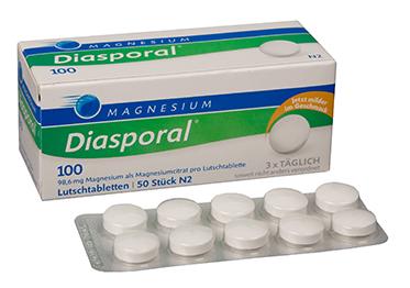 MAGNESIUM -DIASPORAL 100 ORANGE IMEMISTBL N50