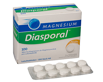 MAGNESIUM -DIASPORAL ORANGE TBL 100MG N100_