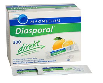 MAGNESIUM -DIASPORAL DIREKT PLV 300 N20
