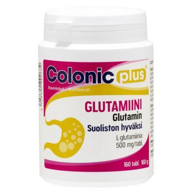 COLONIC PLUS L-GLUTAMIIN TBL N160_