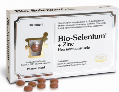 BIO-SELENIUM+ZINC TAB N90