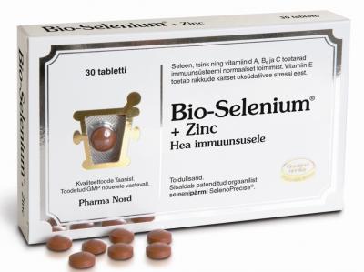 BIO-SELENIUM+ZINC TAB N30