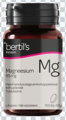 BERTILS KELASIN MAGNEESIUM 85MG TBL N100