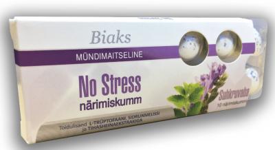 BIAKS NÄRIMISKUMM NO STRESS N10 (SUHKRUVABA)
