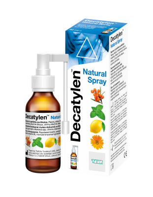 DECATYLEN NATURAL KURGU-JA SUUÕÕNESPREI 20ML