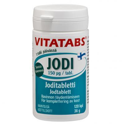 VITATABS JODI TBL  N120
